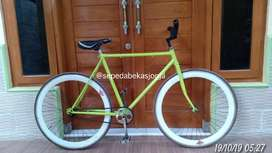 Fixie murmer normal tinggal gowes