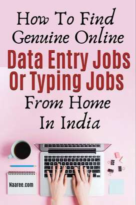 Genuine jobs- Earn upto 50K per month - Simple Typing/ Data entry jobs