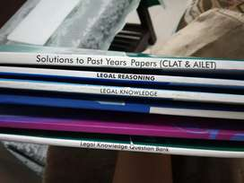 6 law entrance exam books