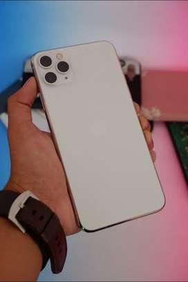 Iphone 11 Pro Max 256gb Silver garansi Resmi TAM
