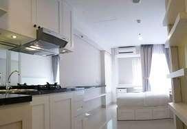Dijual Apartemen Type Studio Fully furnished minimalis, mewah Jaksel