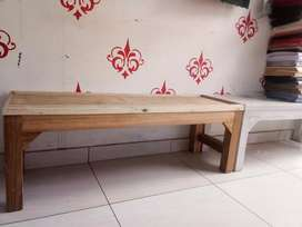 Long tables for shop