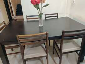 Dining Table Wooden - 6 seater