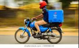 Need Part  Time Food Delivery Boys