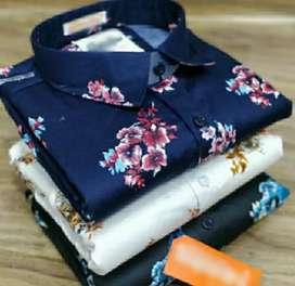 All & Running Top Quality Cotton Shirt