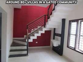 Biggest Gated Community Villas For Sale in Kozhinjimpara