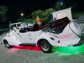 Custumized vintage car