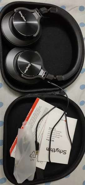Srhythm ANC Headset with Mic and Bluetooth/Wireless
