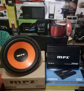 "Plus Pasang,Komplit,Subwoofer+Power+Box+Kabel""+Doubledin TV+Antena"