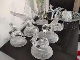 Patung kristal kondisi bagus