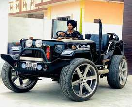 Willy jeep Modified by BOMBAY JEEPS AMBALA, Open jeep Modified Booknow
