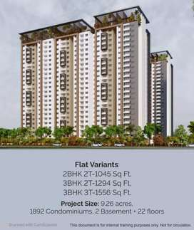 50%discount @ 100% payment in MIYAPUR LUXURIOUS APARTMENT FLATS.