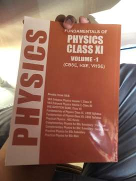 VAS PUBLICATIONS PHY +1 CHAPTERS AND ENTRANCE QUESTIONS (VOLUME 1 & 2)
