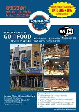 Lowongan Supervisor Operational Kongkow Village Cafe Restoran