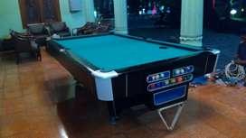 Meja billiard 9,8,7,6 feet & meja billiard modifikasi baru,bagus,murah