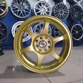 Velg mobil racing ring 16 lebar rata bisa untuk mobil Avanza,Xenia