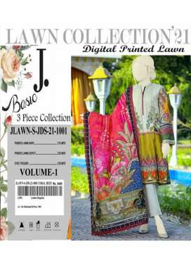 J. Digital printed lown Collection