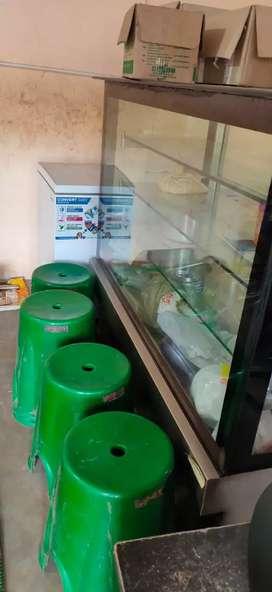 Deep freezer godrej nd sweet display counter
