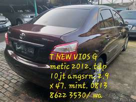 T .new vios G 1,5cc metic. tdp 10 jt