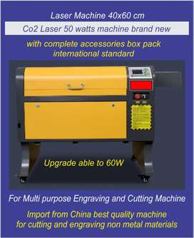 co2 laser machine m2 board 4060cm 50w upgrade able to 60w