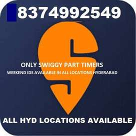 SWIGGY ONLY FOR PART TIMERS/EARN WEEKLY 5000