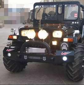 Stylish modified jeep