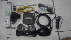 Paket Spesial Gaming STB Bekas Ind*home ec6108v9 Unlocked