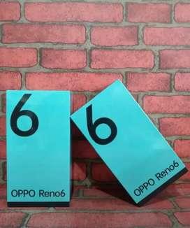 PROMO OPPO RENO 6 RAM (8/128) HARGA SPECIAL PPKM!!