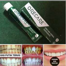 Orecare pemutih gigi dan perontok karang gigi alami