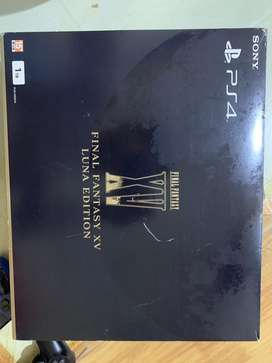 Ps 4 slim 1tb limited FF XV Luna Edition fullset ori