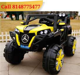 Big Sized Kids Battery Operated Car - Remote and Self Controlled