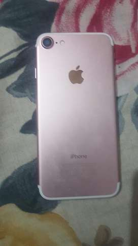 Iphone 7 rose gold 32gb 9/10 condition