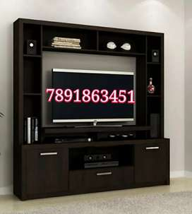 New wooden lcd unit led wall unit tv cabinet