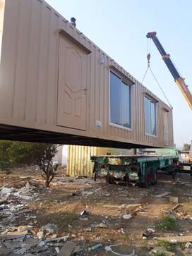 cabin prefab homes site office and containers living container