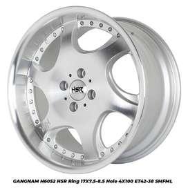 GANGNAM 6052 HSR R17X75/85 H4x100 ET42/38 SMF/ML