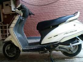 White colour activa good condition service done recently