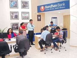 LIMITED REQUIREMENT IN BANDHAN BANK JOB EXP/FRESHERS APPLY.