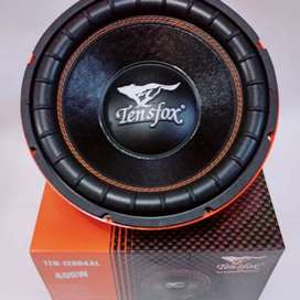 Subwoofer TENSFOX - TEN 128D4AL - 12 Inch - DOBLE Coil AUDIO MOBIL