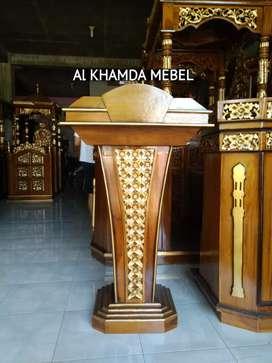 Ready Mimbar Musholla Kerajinan Jepara #78