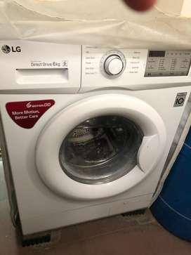 LG 6kg washing machine (1.5 years old)