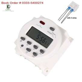 Water Motor/Pumps Auto On/Off Programmable Digital Timer Switch 220v