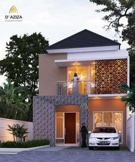 Rumah exclusive 2 lantai