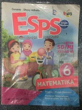 Buku ESPS Matematika Kelas 6