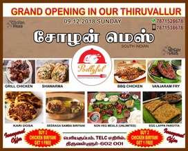 Restaurant at tiruvallur for parotta master