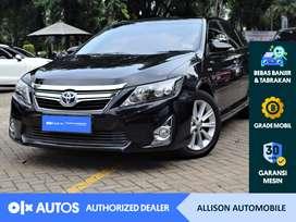 [OLXAutos] Toyota Camry 2013 2.5 V Hybrid A/T Bensin Hitam #Allison