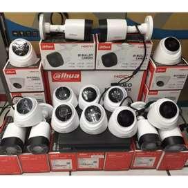Paket Pasang Cctv 4 Camera HD jernih bergaransi