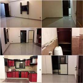 APARTMENT RENT IN DHA PHASE 6. 2 master bedrooms