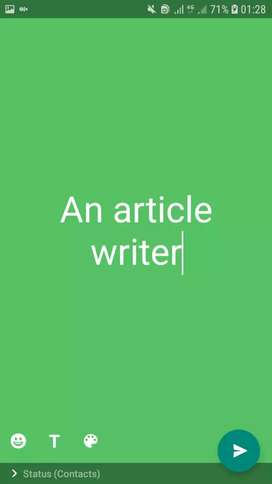 BUY  A Content, Ariticle Writer, SEO Certified. Blogger, ETC