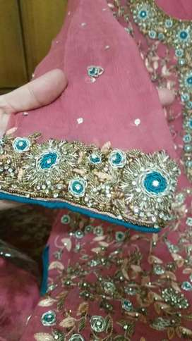 Heavy embroidered dress for sell