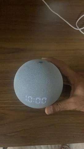 Alexa 4th generation with clock